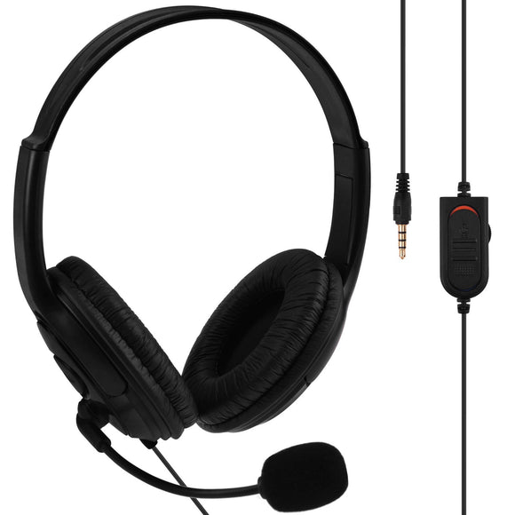 Stereo Headset for PS4 Black