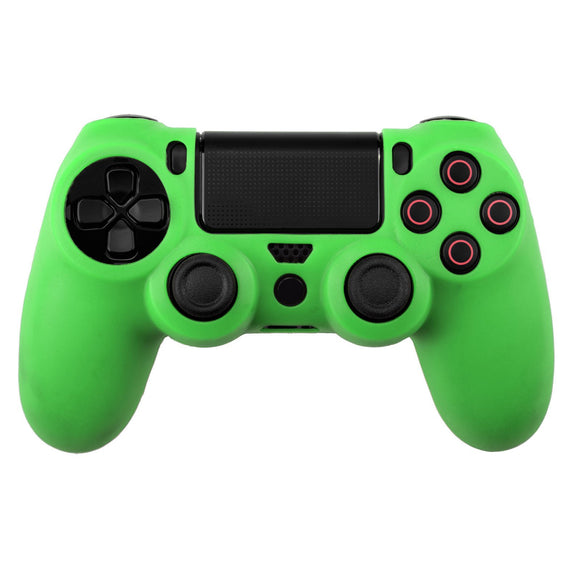 Silicone Protect Case for PS4 Dualshock 4 Green