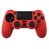 Silicone Protect Case for PS4 Dualshock 4 Red