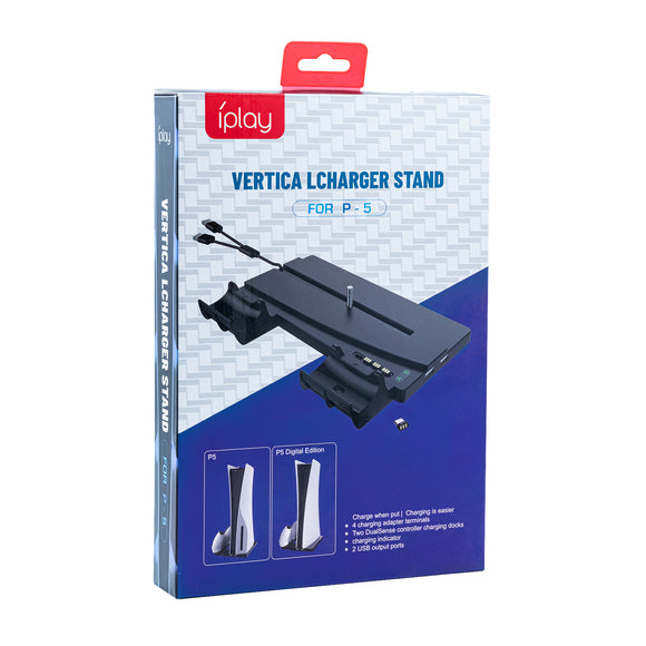 IPLAY Vertical Charger Stand For PS5 DE/UHD (HBP-269)