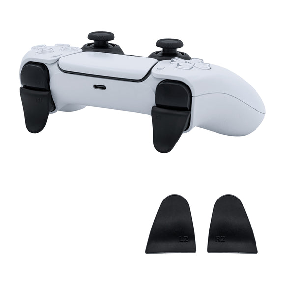 L2 R2 Extended Trigger Pack for PS5 Controller - Black