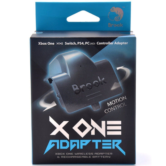 Brook X One Adapter for Xbox One to PS4/Nintendo Switch/Xbox One/PC Wireless Adapter & Rechargeable Battery Black (FM00006366)