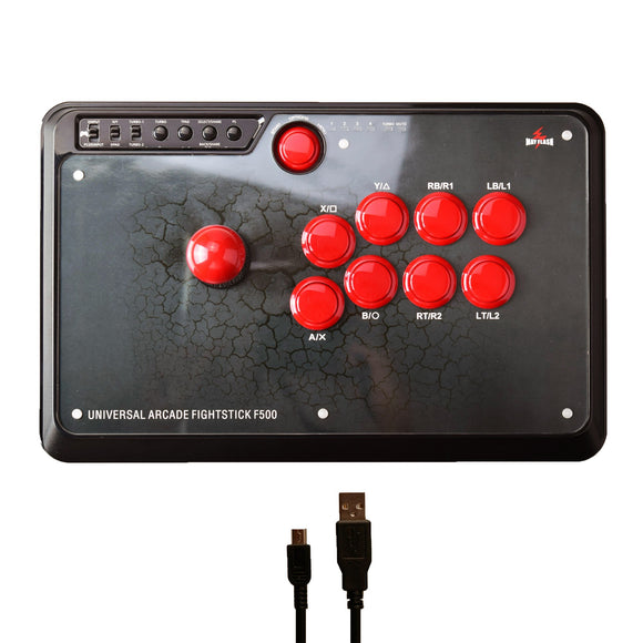 MayFlash Arcade Fightstick F500v2 for PS4 PS3 Xbox One 360 PC Android Nintendo Switch NeoGeo Mini  (F500)
