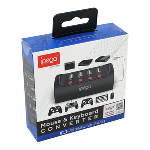 iPega PG-9133 Keyboard & Mouse Converter for Nintendo Switch/PS4/Xbox One