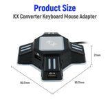 KX USB Keyboard & Mouse Converter for Nintendo Switch/Xbox One/PS4/PS3