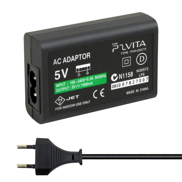 AC Adapter for PS Vita EU Plug