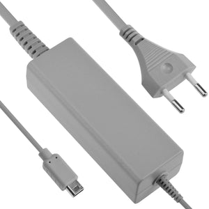 AC Adapter 100-240V Power Charger for Wii U GamePad Euro Plug