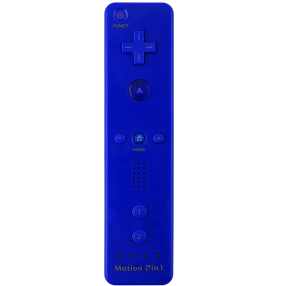 Remote Plus Controller for Wii/ Wii U Dark Blue
