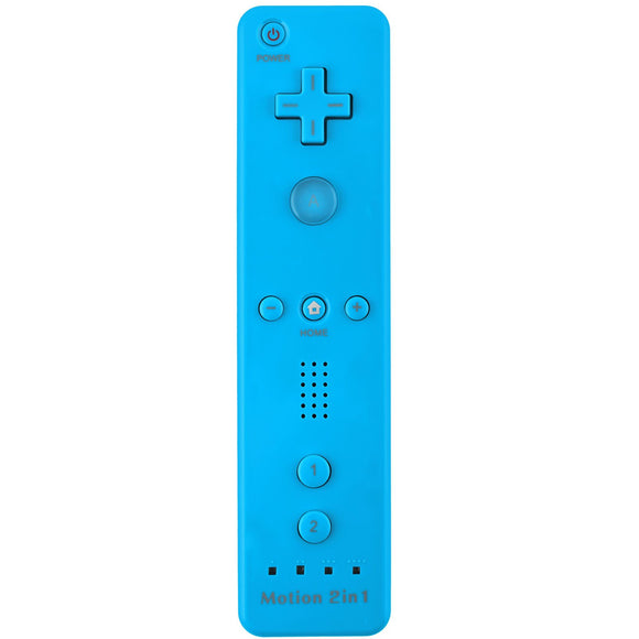 Remote Plus Controller for Wii/ Wii U Light Blue