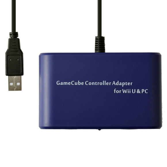 Mayflash GameCube Controller Adapter for Wii U/PC/Nintendo Switch (2 Ports) (W013)