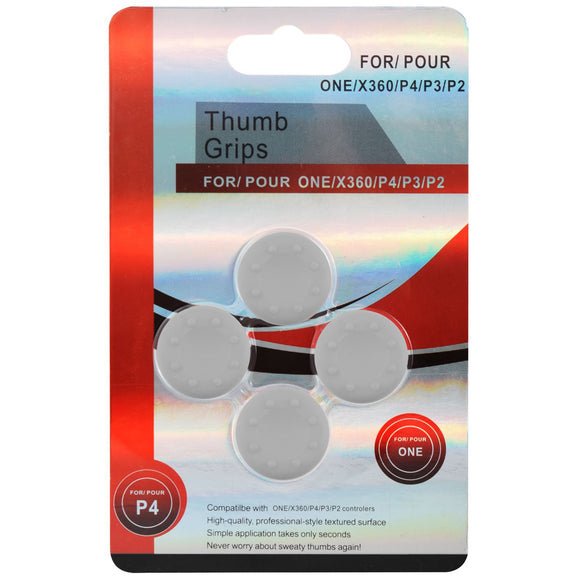 Silicon Analog Thumb Set for XBox One 360/ PS3 & PS4 Controller White