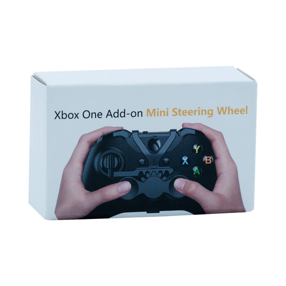 Add-On Mini Steering Wheel for Xbox One/Xbox One Slim/Xbox One X Controller