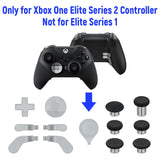13 In 1 Metal Custom Button Set for Xbox One Elite Series 2 Controller - Silver