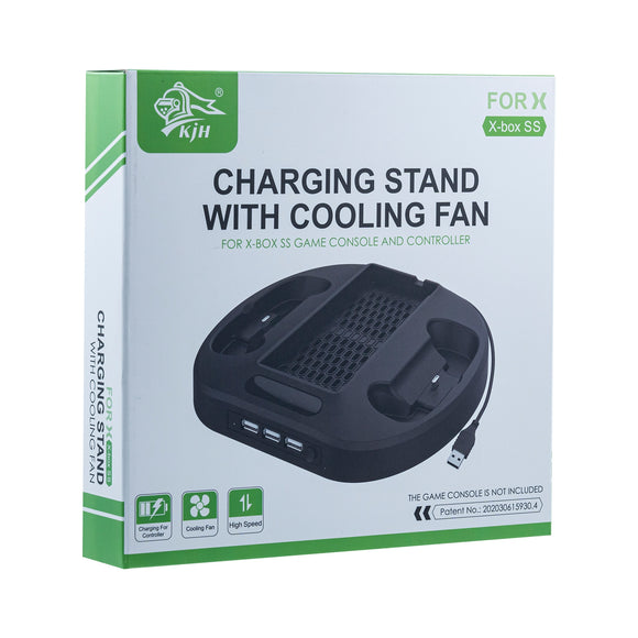 Charging Stand With Cooling Fan For Xbox Series S(KJH-XSS-002)