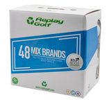 Golf Balls Mix Brands Recycled, Replay Golf 48 Pack