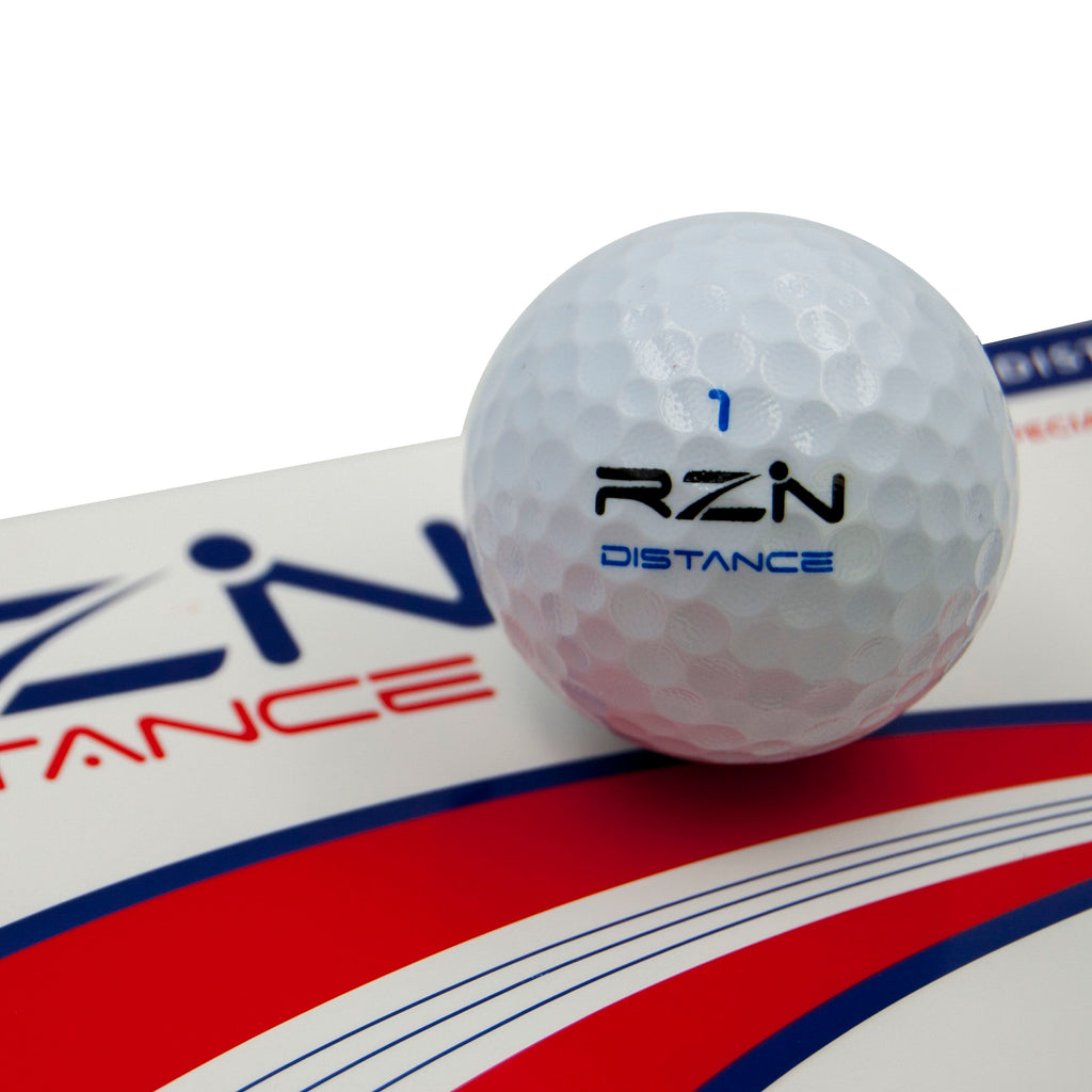 RZN Distance Golf Ball, 12 Pack