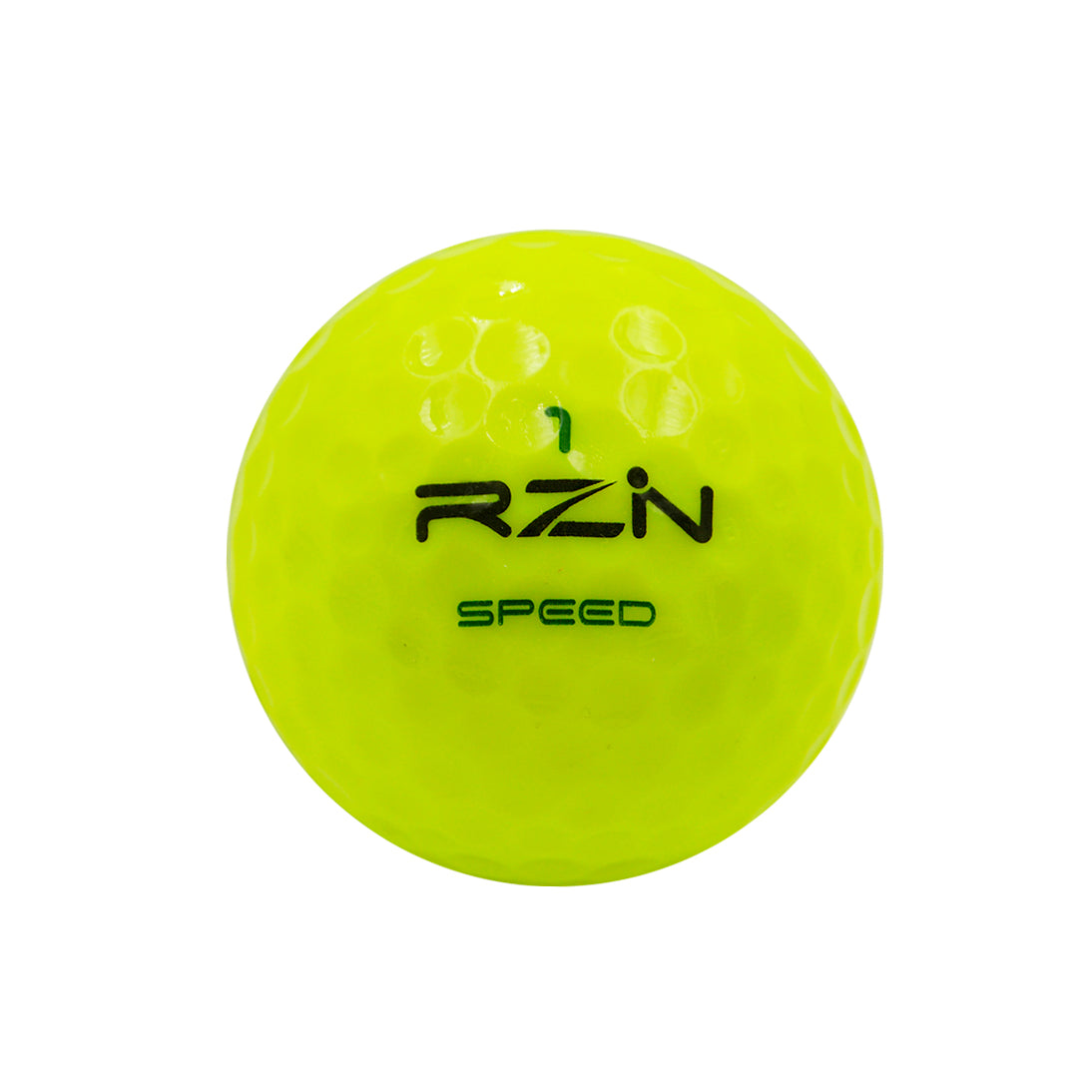 RZN Speed Yellow Golf Ball, 12 Pack