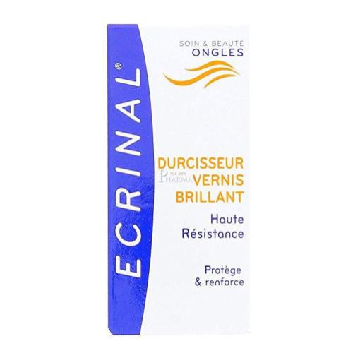 Ecrinal Top Coat Clear and Shiny for Nails, 0.34 Fluid Ounce