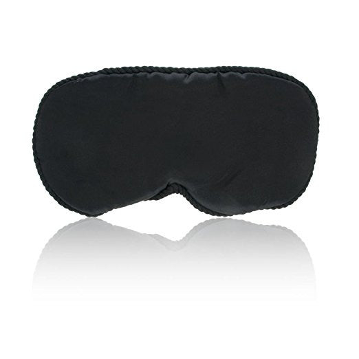 Spa Sister Silk Sleep Mask, Black