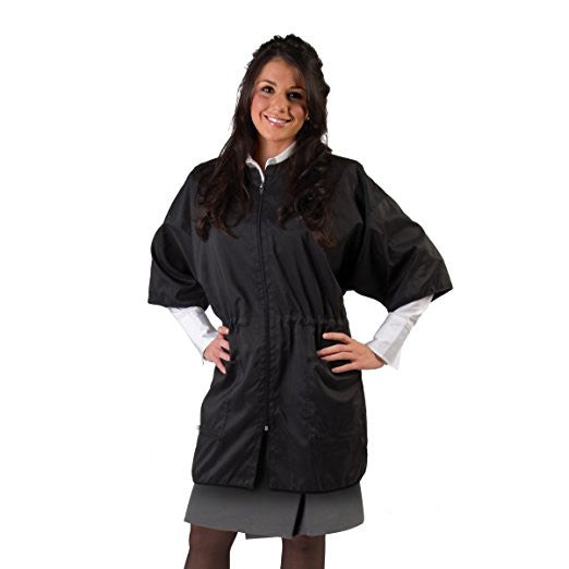 Cricket Static Free Polyester/Carbon Blend, Cover-Up, Black