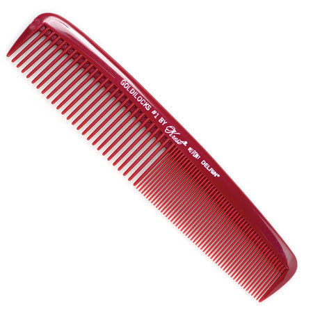 Krest Goldilocks 1 Burgundy Comb - beautysupply123