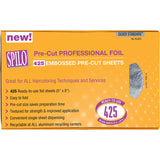 "Spilo Pre-Cut Professional Foil 5"" x 8"", 425 Sheets - beautysupply123"