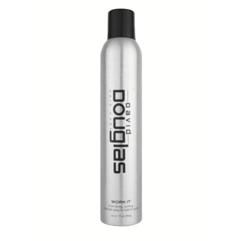 David Douglas Work It Hair Spray 10oz - beautysupply123