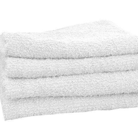 White Towels 16 X 27 - beautysupply123