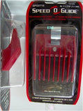 Speed-O-Guide SP-SPG0716 No 1 Clipper, Red - beautysupply123