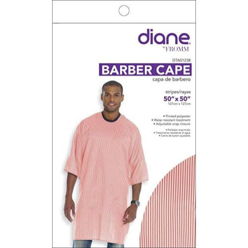 Diane Barber Cape- Striped Print