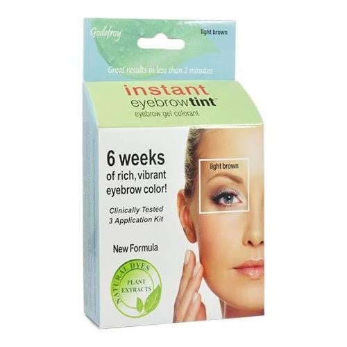 Godefroy Eyebrow Tint Light Brown - beautysupply123