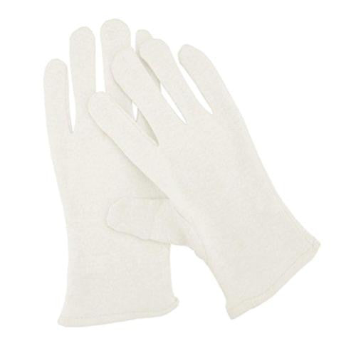 Spa Sister Overnight Moisture Gloves - White