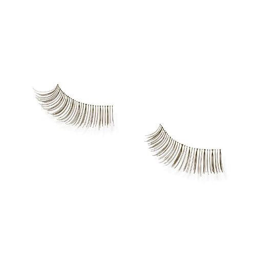 Andrea: Strip Lash Pair Style 53- Brown - beautysupply123