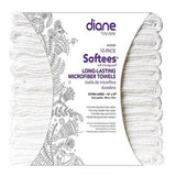 Diane Softees with Duraguard, White, 10 Pack