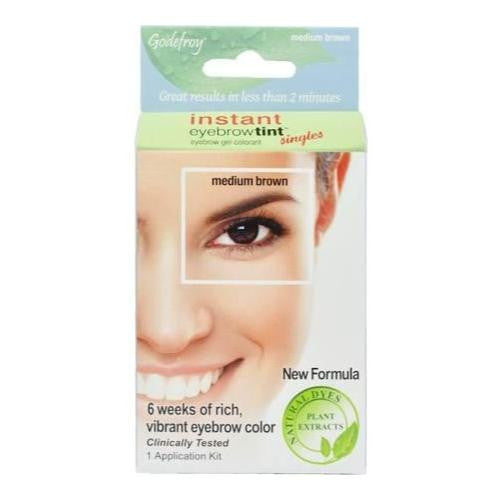 Godefroy Eyebrow Tint Medium Brown - beautysupply123