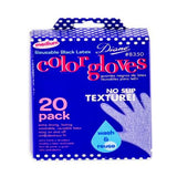 Diane Color Gloves Black * Medium * 20 Ct