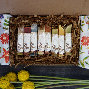 Soap Mini Nest Box, Set of 8 Minis, Spring Botanical Collection