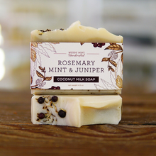 Load image into Gallery viewer, Rosemary Mint & Juniper Soap