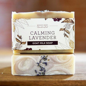 Calming Lavender Goat Milk Soap, Natural, Palm Free