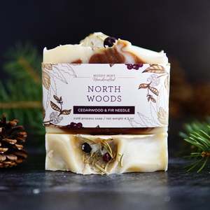 North Woods Soap, Woodsy Scent, Limited Edition
