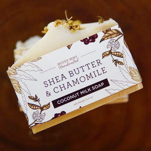 Shea Butter & Chamomile, Unscented with Coconut Milk
