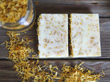 Load image into Gallery viewer, Lemongrass & Calendula Soap with Aloe Vera
