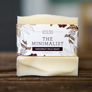 The Minimalist (unscented) with Cocoa Butter and Coconut Milk