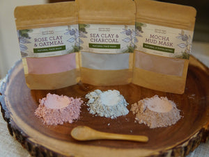 Clay Mask Pouches - Sample Size
