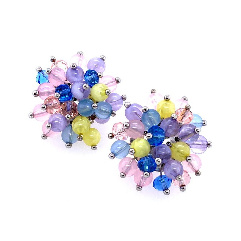 Beaded Bunch Large Studs