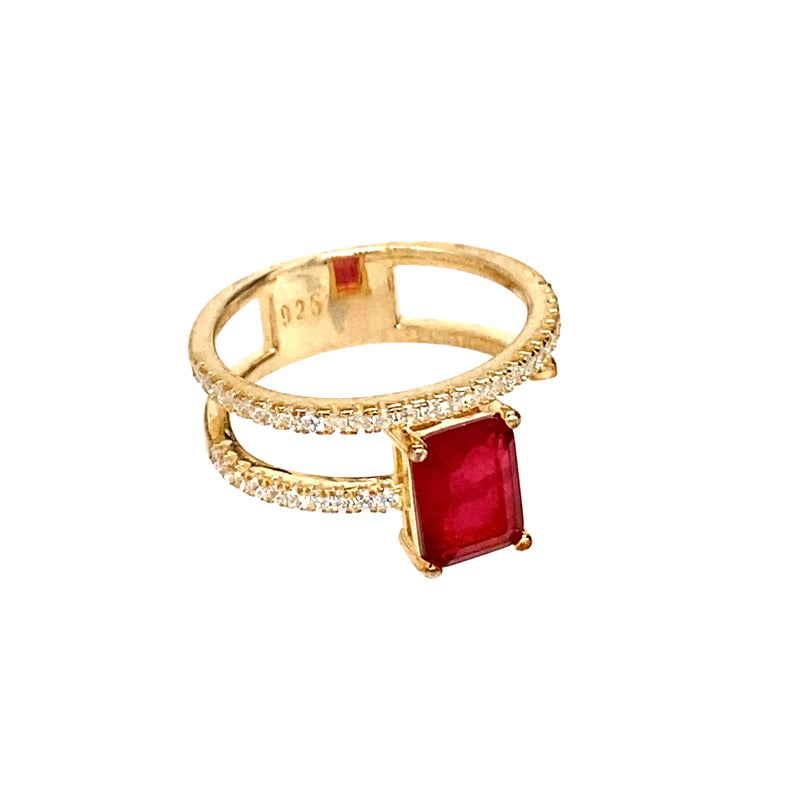 Ruby Wrap Ring