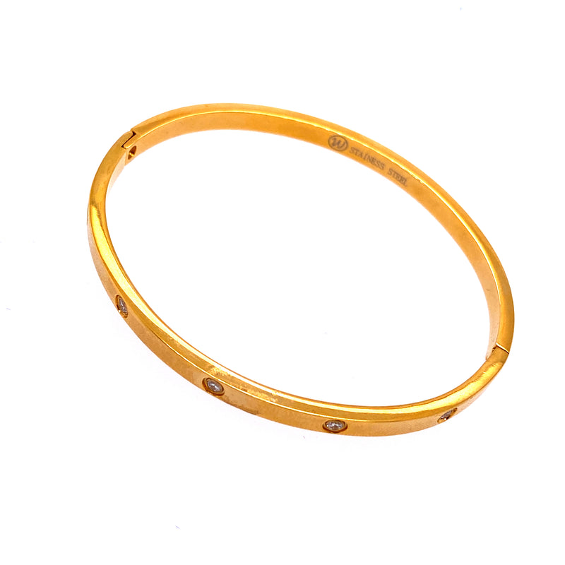 Stainless Steel Bangle Bracelet