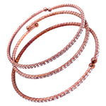 Three Bangle Set in Rose Gold