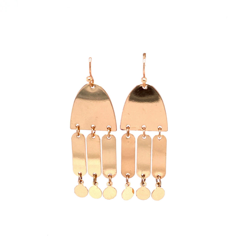 Geometric Dangling Earrings