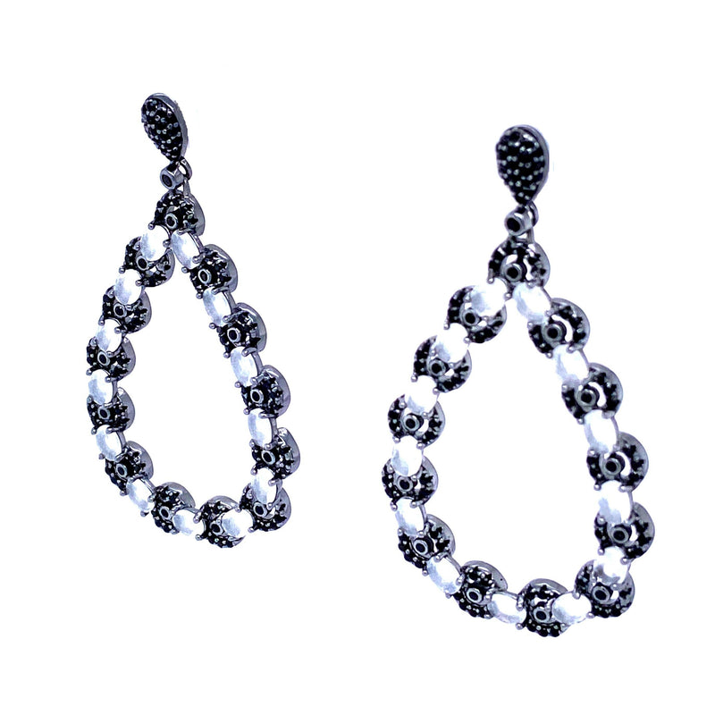 Classic Modern Teardrop Earrings